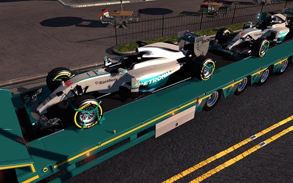 Mercedes AMG Petronas Formula One Team Hamilton Rosberg