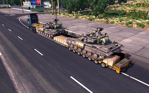 T 90A Tanks