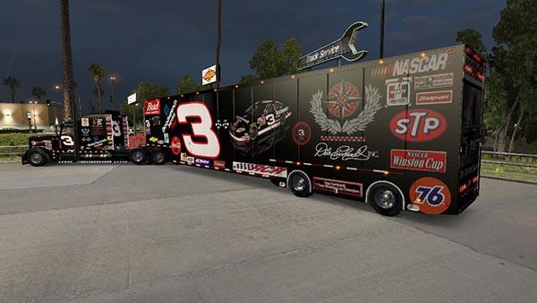 NASCAR featherlite MODIFIED Dale Earnhardt SR. tribute skin