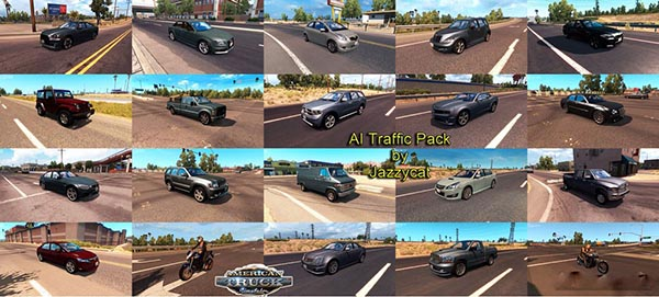 AI Traffic Pack by Jazzycat v 1.5.1
