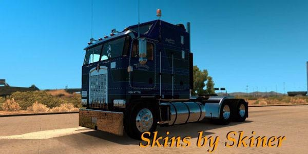 Kenworth K100 Rawhide Trucking LLC Skin