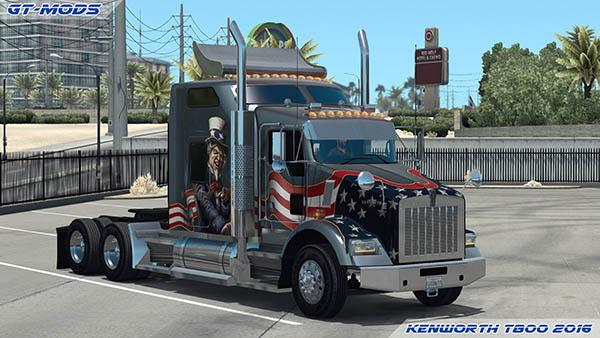 Kenworth T800 2016 v0.5.1 for 1.2