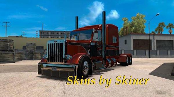 Peterbilt 389 Metallic Skins Pack 1