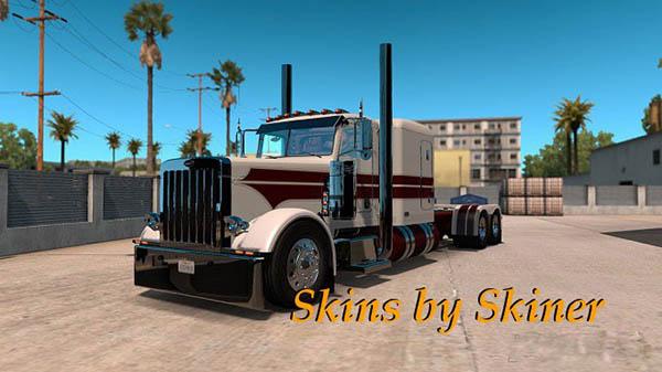 Peterbilt 389 White Knight Skin update