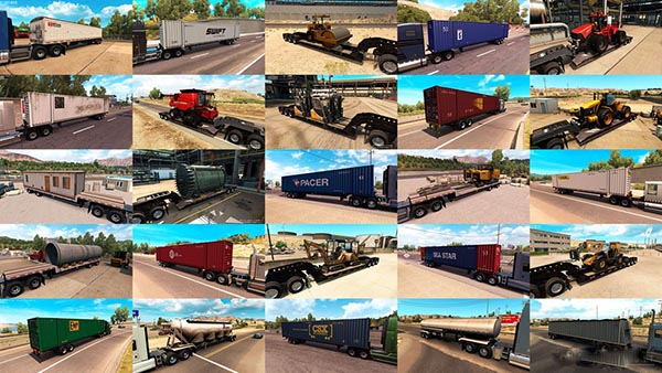Trailers and Cargo Pack by Jazzycat v 1.1.1